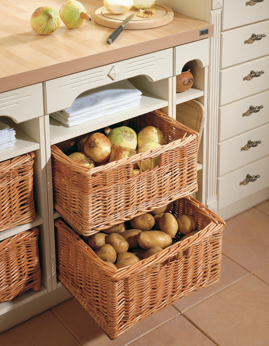 Styleture notable designs functional living for Baskets for kitchen cabinets