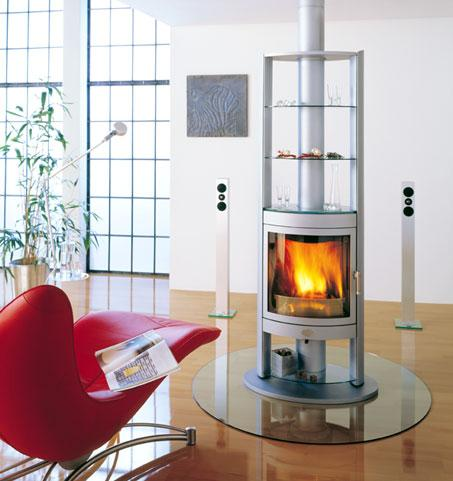 Max Blank Berlin Fireplace
