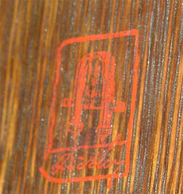 Gustav Stickley Red Stamp