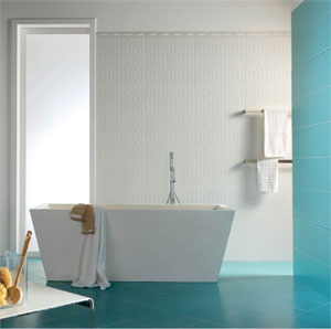 Hastings AAB Series White Relief Tile