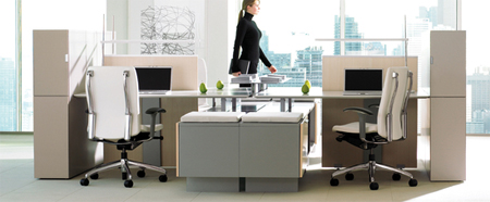 Teknion District Furniture System