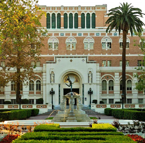 USC Doheny Library Exterior